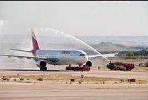 Presentamos la #nuevaIberia / Estrenamos nueva imagen, símbolo de una nueva etapa y de nuestro plan de futuro. #NuevaIberia / by Iberia Líneas Aéreas