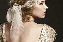 a champagne and tiffany wedding