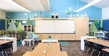 Classroom Layouts Inspiration / A teacher's favorite ideas for setting up a calm, productive, organized learning environment. (Classroom Layouts | Classroom Floor Plans | Classroom Organization | Classroom Desk Arrangements | Classroom Decor)