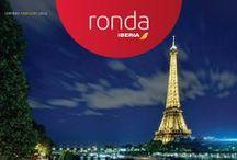 en_ronda_dos / Descubrid las portadas de Ronda, nuestra revista a bordo, con la #nuevaIberia :) ¡Bienvenidos a bordo! / by Iberia Líneas Aéreas