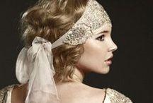 "onyx and champagne ""I do"" / Art Deco Wedding inspiration, Gatsby Wedding Inspiration"