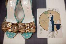 aquamarine vintage bride