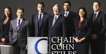 At Chain | Cohn | Stiles: Bakersfield's Law Firm / See what's going on with the lawyers at Chain | Cohn | Stiles -- Kern County's leading personal injury and workers' compensation law firm.