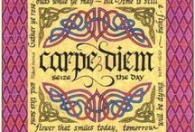 Carpe Diem / It is hard and difficult to live with a disease that is not curable but keep a smile on your face and CARPE DIEM