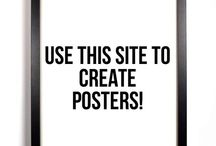 Visual Art Room Posters