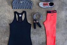 workout clothing/ outfits