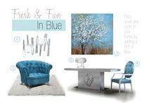 Fresh & Fun in Blue