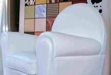 Restauri rinnovi coperture / Come si può dare vita alla vecchia poltrona di casa con nuovo rivestimento e ripristino imbottiture e molleggi