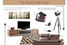 The Modern Man Cave
