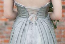 a vintage wedding of grays & greens