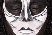 Halloween GRIMAS / ideas #maquillaje #halloween con #grimas