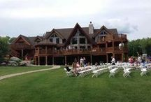 Moose Lake Ranch / DIY wedding, Family reunion and vacation venue on Saturday Pond. Otisfield, Maine