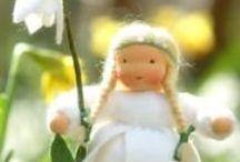 Blumenkinder und Elfen