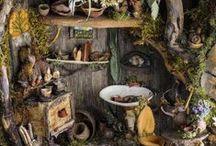 Feen: Gärten und Häuser / Fairies