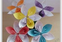 Paper Flowers / How to make a paper flower