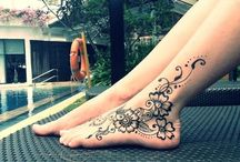   Henna Foot / Ankle  