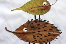Herfst / Allerlei ideetjes om met peuter te doen robdom het thema herfst.