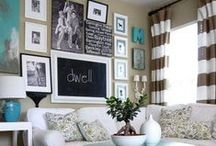 Living Room / Layouts, decor, and furniture to inspire your own living room.