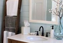 Bathroom Ideas! / Transform your bathroom into your own personal spa and escape from the day-to-day worries.