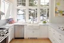 Kitchen Inspirations / Amazing pieces and ideas from small to large kitchens.
