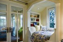 Nooks & Crannies / Wonderful places to curl up in!