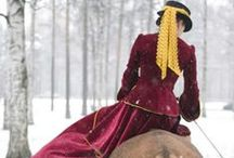 the vintage equestrian / vintage inspired fashion, art and photos.