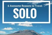 Solo Travel / Tips, tricks and stories for solo travel.
