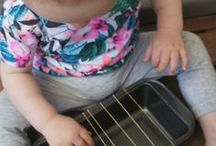 Baby Music Activities / teach kids music- activities for your baby or toddler to use at home!