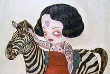 Illus & paintings / by L. Sebasto Cha