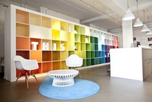 office spaces / workplaces / Office space and office design - ideas for creative working enviroments.