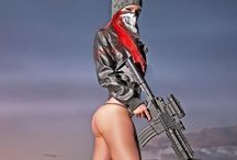 Girls / Women with guns - message me to be added / by BlackWater Guns and Ammo