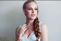 Kat Bridal Hair and Makeup / Kat Desouza Bridal Wedding Hair and Makeup Work #makeup #hair #bride #wedding