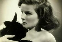 katharine hepburn / by The Blonde at the Film