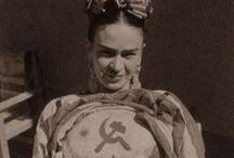 """Frida Kahlo / """"Sai Libero cosa disse la Kahlo prima di morire? Spero che l'uscita sia gioiosa e spero di non tornare mai più."""" [""""Atti osceni in luogo privato"""" di Marco Missiroli]"""