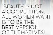 Words of Beauty to Live By / Inspiring quotes of beauty & loving life