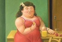 Botero / In this board you will find paintings and sculptures of Fernando Botero.  Most of them should be appropriate for school.