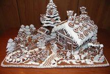 Gingerbread house / perníková chaloupka