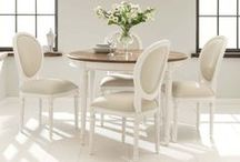 French Inspired Chairs and Tables / Our range of French style tables and chairs http://www.homesdirect365.co.uk/french-furniture-487/dining-6/tables-chairs-1769.html