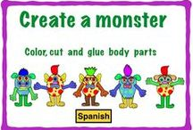 Partes del cuerpo / Spanish: Body parts