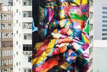 Arte de rua / Pinturas grafite e etc em ruas do mundo