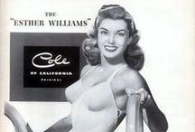 vintage ads / vintage advertisements featuring movie stars