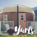 Yurts & Simple Living / Outdoors | Yurts | Yurt Campgrounds | Yurt Design | Yurt Interior | Travel | Wanderlust | Tiny House | Simple Lifestyle