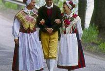 Suomalaisia kansallis- ja muinaispukuja