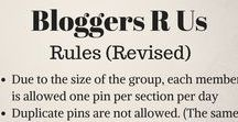 Bloggers R Us / Bloggers R Us caters to every bloggers' niche. Bloggers are able to pin anything from their blogs to the appropriate sections (Lifestyle, Music, Travel, Photography, etc.). PLEASE ADHERE TO THE RULES IN THE PIN BELOW - Thank you. Please show each blogger some love by visiting their page. If you would like to be apart of this board, send me a message at pinterest.com/mysticshan96