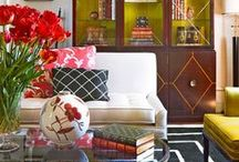 """Home / """"Stick to the things you really love.  An honest room is always up-to-date.""""   ~Billy Baldwin~ / by Jo Homewood"""