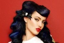 pin up hair / Because it's just cool