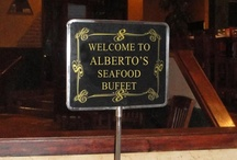 Friday Night Seafood Buffet / Alberto's Seafood Buffet is served every Friday through March 29, 2013 from 5:30pm until 8:30pm. All you care to eat, $12.95!