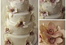 Bryllup blomster, kaker og dekor