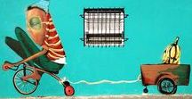 Street Art / Art that is part of the fabric of cities