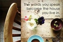 Wise words/ inspiration ☼ / Inspirational quotes, things to remind myself of :) / by Jessica Rowe